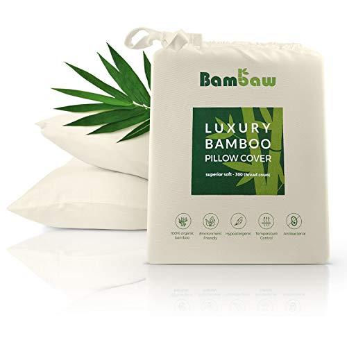 Bambaw Fundas Almohada Bambú | Tacto Suave Fino |
