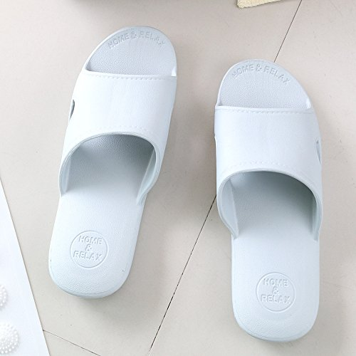Kenroll Shower Scarpe Da Spiaggia Scarpe Estive Scarpe Da Spiaggia Toe Infradito Da Uomo Per Donna Blu-grigio