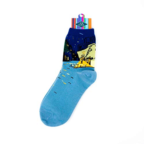 Damen Art Masterpiece Socken, 20+ Designs. Van Gogh, Monet, Manet, Renoir, Da Vinci und mehr -