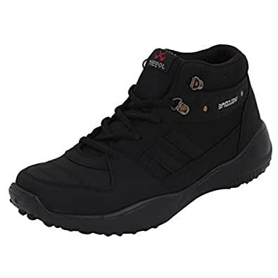 Rock Men's Black Mesh Sport Shoe - 10