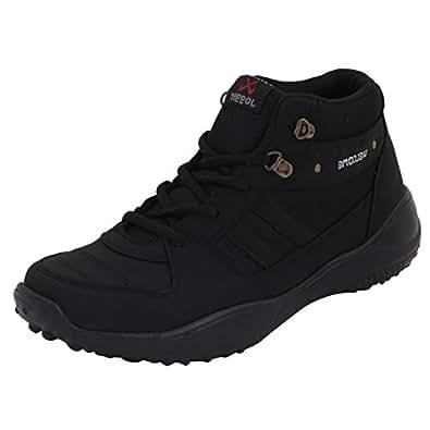 Rock Men's Black Mesh Sport Shoe - 10