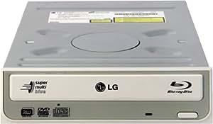 LG GGW-H20L Super Multi Blue Blu-Ray Disc Rewriter Internal Drive - Ivory