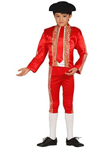 Torero Stierkämpfer - Kostüm für Jungen Gr. 98 - 146, - Matador Kostüm Für Jungen