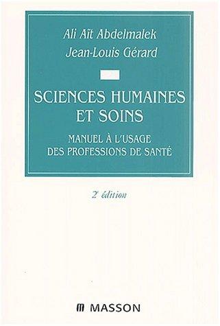 Sciences humaines et soins par Abdelmalek