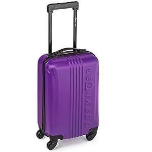 leonardo koffer reisekoffer trolley koffer handgep ck boardcase in verschiedenen farben dunkel. Black Bedroom Furniture Sets. Home Design Ideas