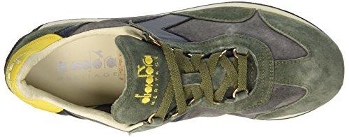 Diadora Equipe S. Sw, chaussure de sport mixte adulte Multicolore (Grape Leaf/Frost Gry/Sup Lemon)