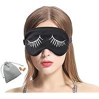MSSilk Schlafaugenmaske - Glättende Maulbeereseide - Verstellbarer Elastikgurt - Leicht - mit einem Bonuspaar... preisvergleich bei billige-tabletten.eu