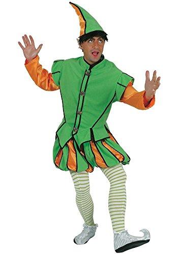 Kostüm Herren Elfe, Wichtel (Lutin Du Pere Noel Kostüm)