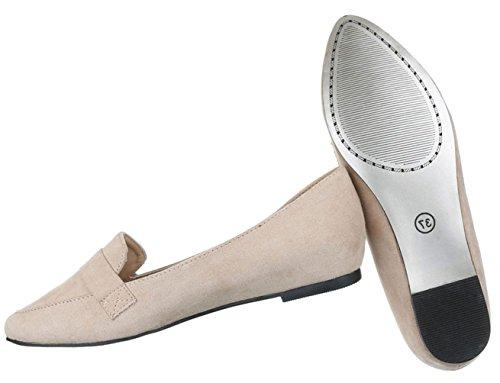 ... Damen Pumps Schuhe High-Heels Mules Pantoletten Sandaletten Business  Pumps Schwarz Beige 36 37 38 ... 3dfa0f20a0