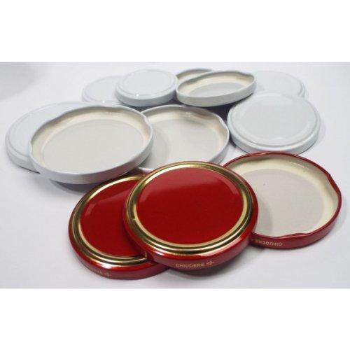 Tapas para tarros de vidrio (100 unidades)