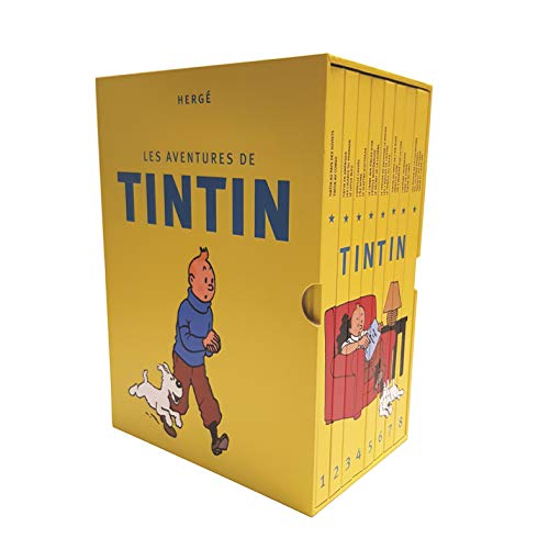 Coffret integrale Tintin en 8 volumes