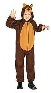 Guirca - Disfraz de oso, talla 3-4 años, color marrón (83260)