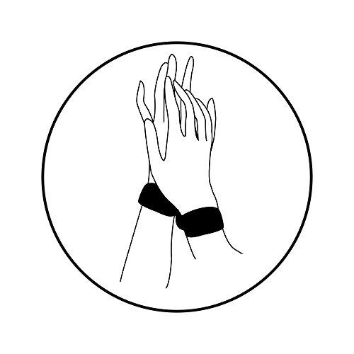 Bijoux Indiscrets Shhh, Augenbinde / Handfessel Soft Bondage BDSM - 6