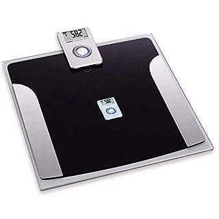FISHTEC ® Pèse Personne à Ecran LCD Déporté - Transmission infrarouge - Impédancemètre