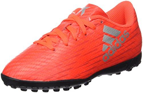 adidas X 16.4 TF J, Botas de Fútbol Niños, Rojo (Rojsol / Plamet / R