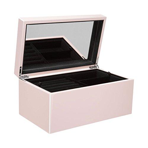 Gift Company - Schmuckbox, Schmuckkasten - Tang - Farbe: Blush/Rose - Maße: (L/B/H) 22,0 x 14,0 x 8,3 cm