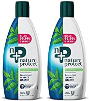 Nature Protect Disinfectant Floor Cleaner, 500 ml (Pack of 2)