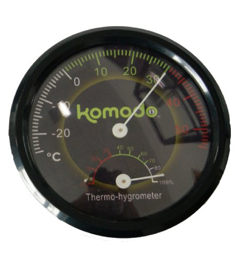 Komodo Combined Thermometer and Hygrometer Analog Test
