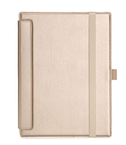 ISIN Premium PU Folio Funda Case Cover Carcasa Extraíble para Lenovo Yoga  A12 YB-Q501F YB-Q501L(No Apto para Otro Tablet Modelos) 12,2