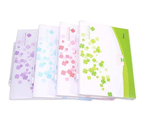 Zufällige Farbe, Ausbau Letter-Format 13-Pocket-A4 Größe File Organizer, Set 1 - Kunststoff-datei-ordner Ausbau