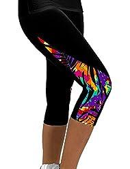 Leggins Mujer deportivos Mallas de Mujer Con Printed Style15 M