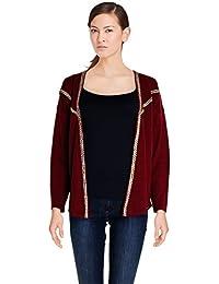 Suchergebnis auf Amazon.de für: strickjacke bordeaux damen