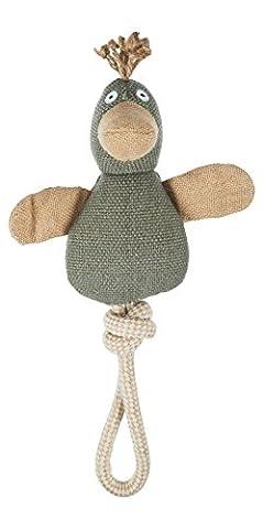 Dog Toys groß leinen Quietschen Ente Kauen Spielzeug für mittlere bis kleine Hunde 36,8cm