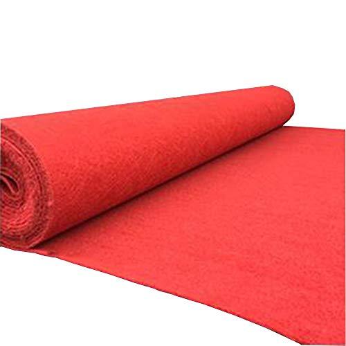 Red Carpet Red Dicke Rutschfeste Essential Hollywood Weihnachtsfeier Dekoration Wegwerf Indoor Outdoor Hochzeitsdekoration Geburtstag Party Runway Teppich (Red Carpet Event Dekorationen)