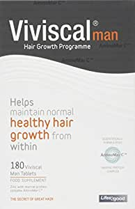 Viviscal - Hair Growth Supplements for Men - 3 Month Supply (180 tabs)
