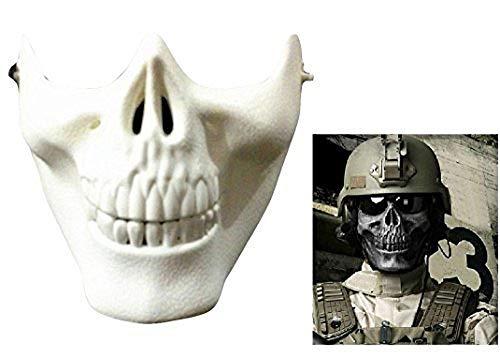 te Weiße Maske - Skelett - Cs - Counter Strike - Armee - Militär - Verkleidung - Halloween - Karneval ()