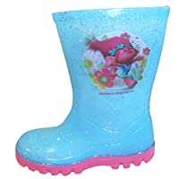 Trolls Girls Wellington Rain Boots Wellys