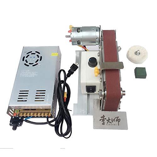 220v mini 895 elettrico 10000rpm levigatrice a nastro lucidatore lucidatore ad angolo fisso affilacoltelli con protezione da sovracorrente