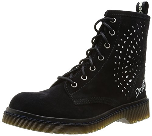 Desigual Women's Rosello Dark Navy Leather Boots - 3.5 Uk image