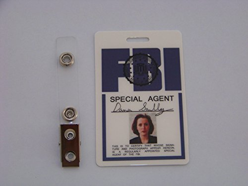 Dana Scully Kostüm - Akte X Agent Dana Scully ID - Karte aus der Serie, ID Badge , Special Agent , X Files