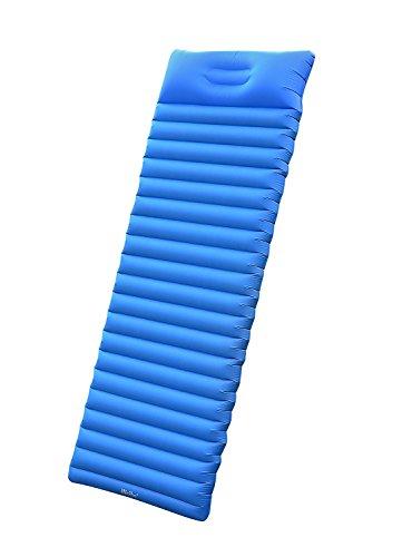 iNeibo Camping Luftmatratze ultraleicht, Outdoor Isomatte aus TPU (186x60x8,5cm) blau