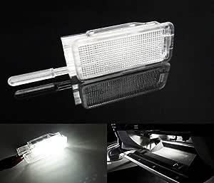 1 X Led Innenraumbeleuchtung Fußraum Handschuhfach Kofferraumbeleuchtung Weiß Auto