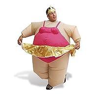 Il costume da ballerina gonfiabile è una favola meno zuccherata, più uno zucchero di prugna grasso, uno dei più divertenti costumi in maschera che tu abbia mai visto!  I fantasmi del foglio e le parrucche della commedia sono finiti - questo è...