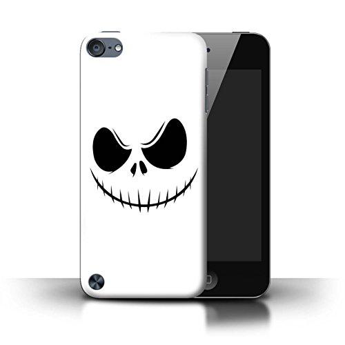 Stuff4® Hülle/Case für Apple iPod Touch 5 / Jack Skellington Inspiriert Kunst Muster/Grusel Filmkunst Kollektion Ipod Touch Jack