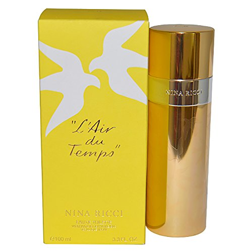 Nina Ricci L'Air du Temps 100 ml Eau de Toilette Spray für Sie, 1er Pack (1 x 100 ml) -
