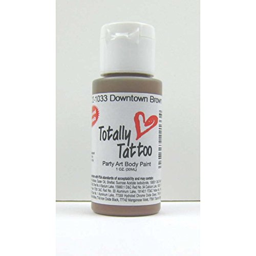Badger Brown (Braun) Body Paint 30ml Tattoo Airbrush Farbe 22-1033 (Farben Badger)