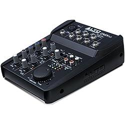 ALTO Professional ZMX52 - Table de Mixage Compacte 5 Voies avec Entrée XLR, EQ et Aux In/Out