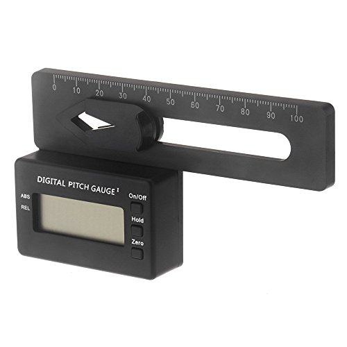 Digital Pitch Gauge (GoolRC Andoer LCD Digital Pitch Lehre für align TREX 150-700 Flybarless Hubschrauber (Digital Pitch Gauge))