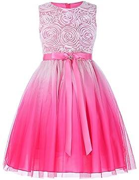 Grace Karin Aermellos A-linie Prinzessin Blumenmaedchen kleid Partykleid