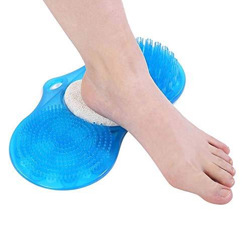 Xiton Duschfuß Scrubber Massager Reiniger und Akupressur Matte für Duschboden verbessert die fußzirkulation (Fuß Scrubber Matte)