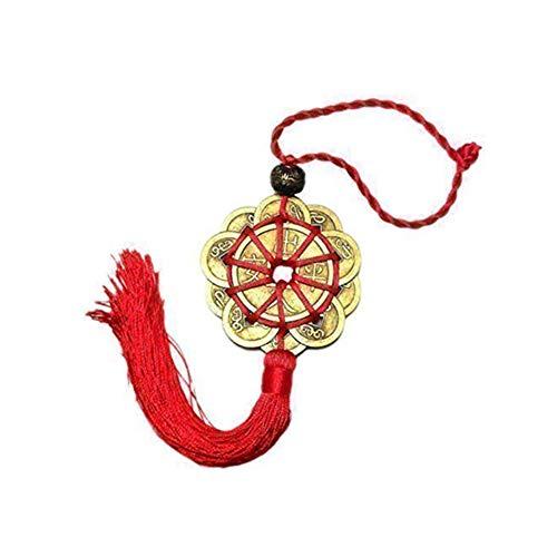 Asien Protección Prosperidad Juego de 10 Monedas Feng SHUILucky Encanto Antiguo I Chinos