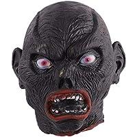 Toyandona Halloween Horror cabeza de vampiro accesorio de cabeza de zombi aterrador para Halloween decoración de fiesta en casa (estilo 1)