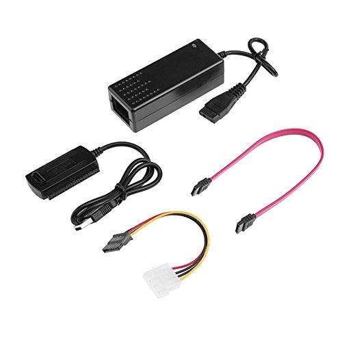 Galleria fotografica Demiawaking 1 Set USB 2.0 a IDE SATA 2.5 /3.5 Pollici Disco Rigido HD HDD Convertitore di Alimentazione Cavo Adattatore