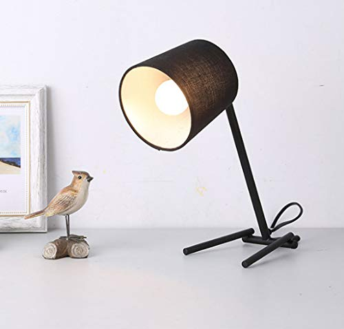 Hnxsy Cartoon Single Dog Bedroom Bedside Table Lamp Creative Iron Table Lamp -