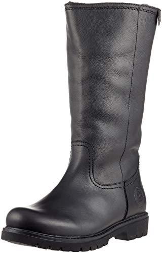Panama Jack Damen Bambina Hohe Stiefel, Schwarz (Negro B60), 37 EU