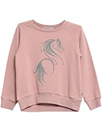 Wheat Sweatshirt Terry Horse, Sweat-Shirt Fille